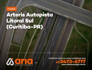 Arteris Autopista Litoral Sul – Levantamento Planialtimétrico de rodovia (Curitiba-PR)