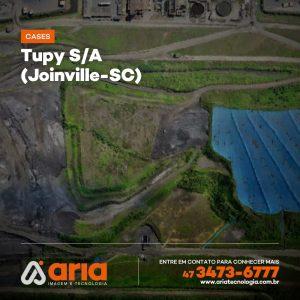 Tupy S/A – Acompanhamento de evolução do volume de aterros (Joinville-SC)