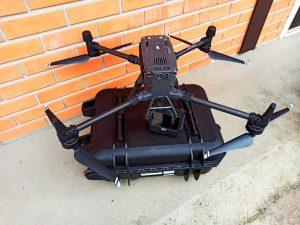 Aterrissou um novo equipamento na sede da Aria: conheça o drone Matrice 300 RTK