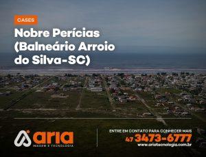Nobre Perícias – Levantamento topográfico a partir de aero imagens (Balneário Arroio do Silva-SC)