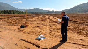 Aerolevantamento para Cálculo de Aterro em Joinville-SC