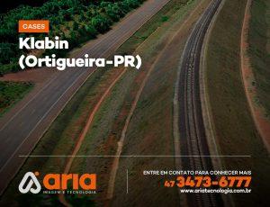 Klabin – Levantamento aéreo de áreas e linhas férreas (Ortigueira-PR)