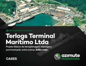 Vamos conhecer mais um case de sucesso da Azimute Engenharia? Terlogs Terminal Marítimo
