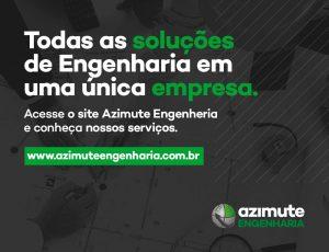 Portfólio de serviços da Azimute Engenharia