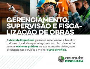 Gerenciamento, Supervisão e Fiscalização de Obras