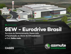Vamos conhecer mais um case de sucesso da Azimute Engenharia? SEW – Eurodrive Brasil
