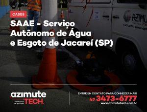 Testes de Fumaça para o SAAE – Serviço Autônomo de Água e Esgoto de Jacareí-SP