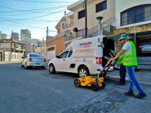Levantamento de Interferências de Redes Subterrâneas em São Paulo-SP