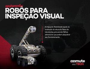 Equipamentos Azimute Tech – Robôs para Inspeção Visual