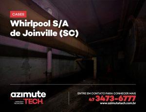 Inspeção visual Robotizada e Escaneamento 3D para a Whirlpool de Joinville-SC