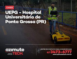 Mapeamento de Utilidades Subterrâneas para o Hospital Universitário de Ponta Grossa-PR (UEPG)