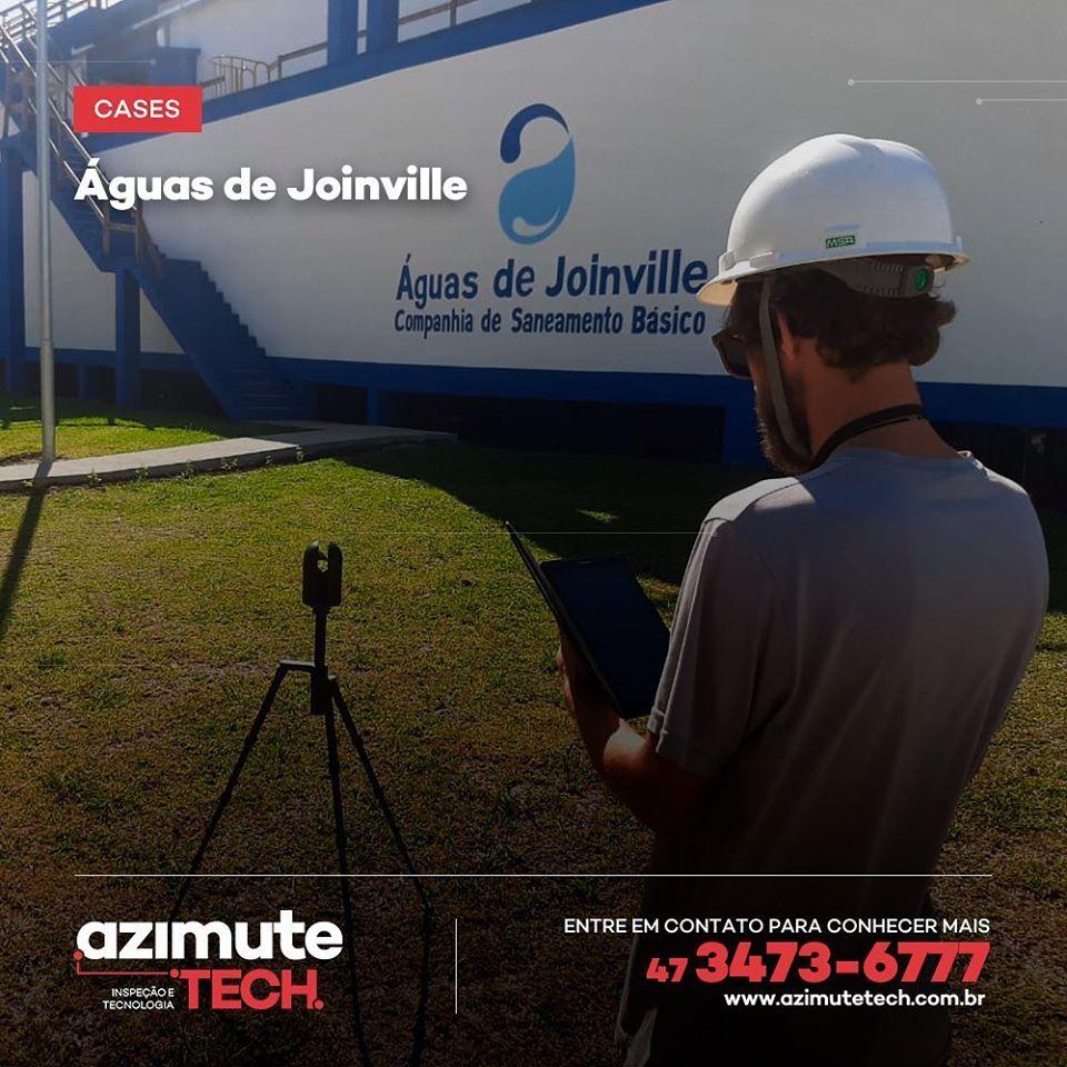 Levantamento Cadastral Digital por Escaneamento 3D (As Built) para a Águas de Joinville (case)