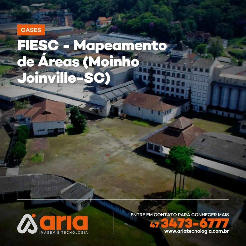 FIESC - Mapeamento de Áreas (Moinho Joinville-SC)