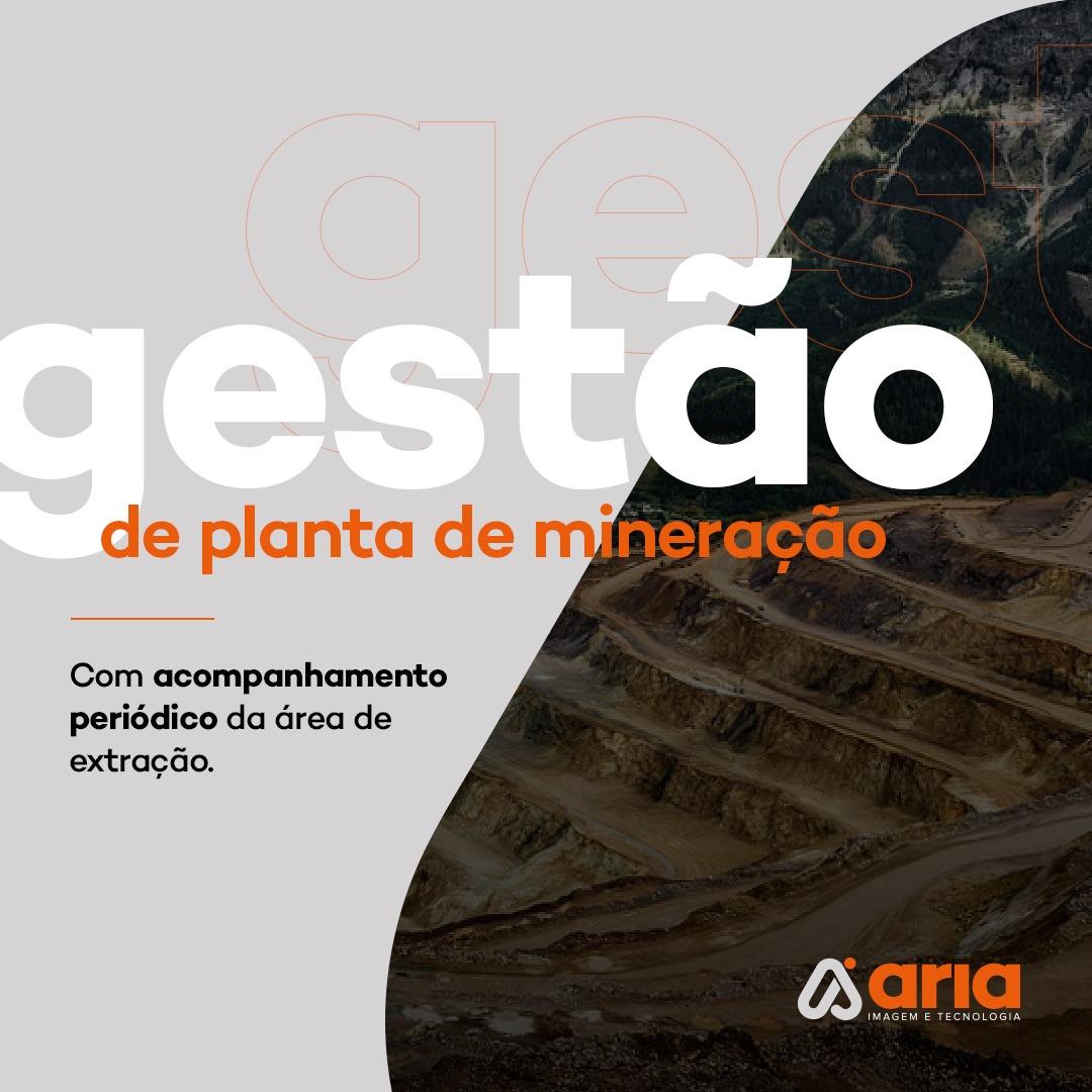 Gestão de planta de mineração