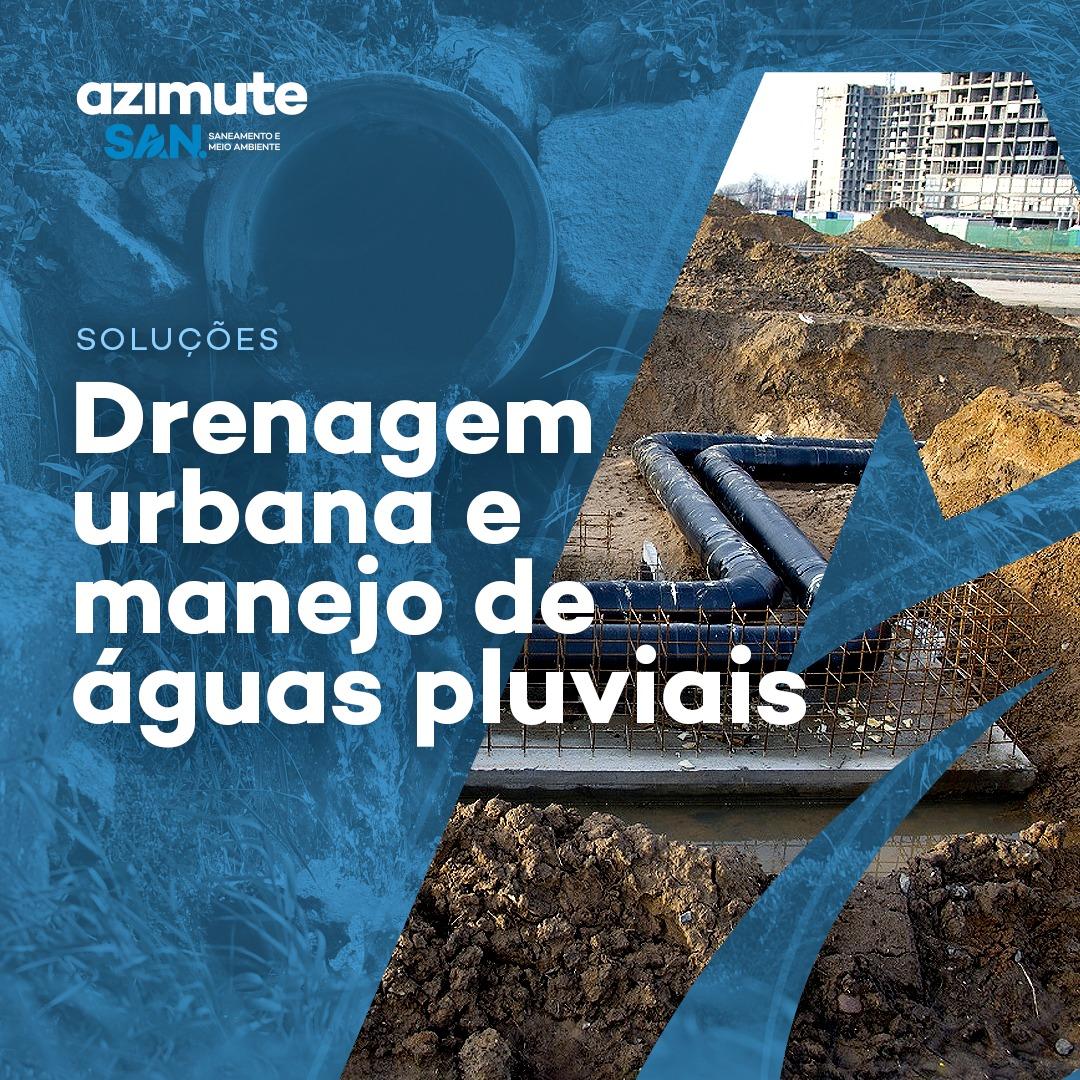 Soluções para Drenagem Urbana e Manejo de Águas Pluviais