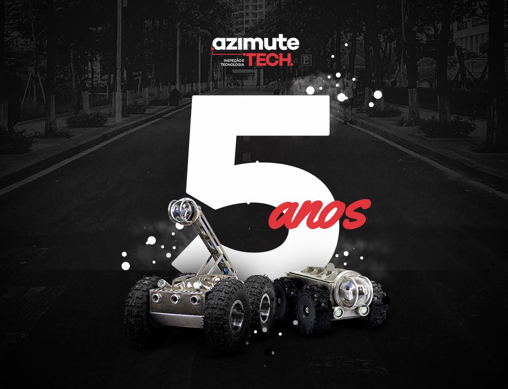Azimute Tech 5 anos