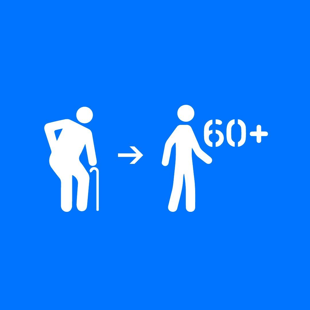 Fato Relevante: Mudança no símbolo para identificação de idosos