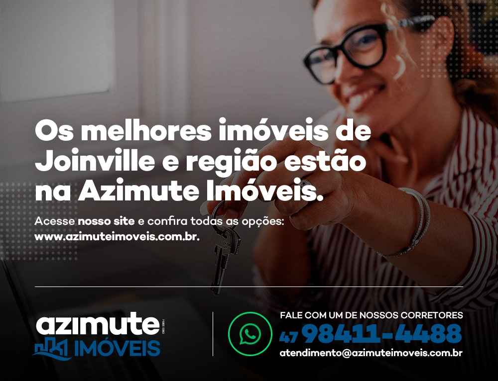 Os melhores imóveis em Joinville e região estão na Azimute Imóveis!