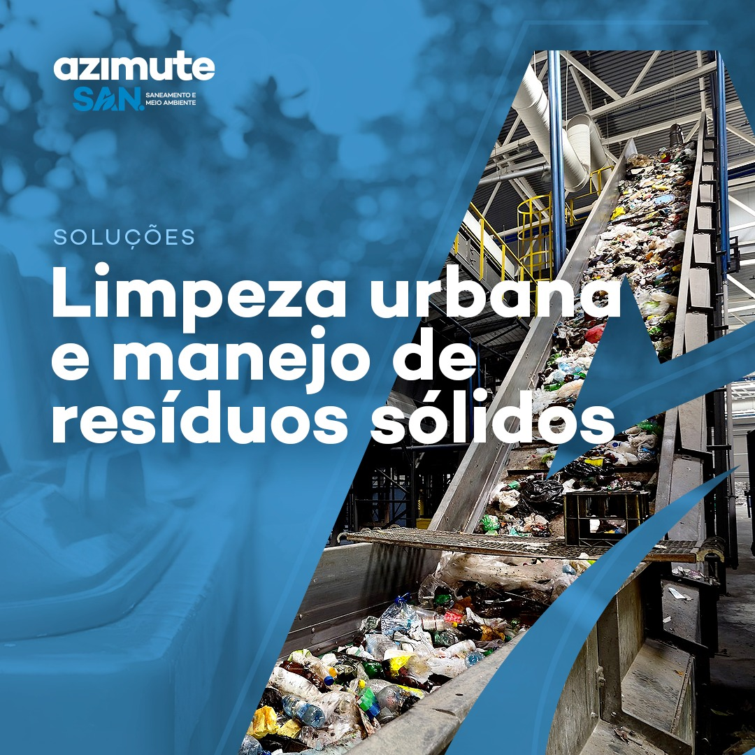 Soluções para Limpeza Urbana e Manejo de Resíduos Sólidos